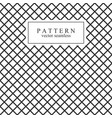grid seamless geometric pattern vector image