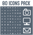 set of universal icons 2 vector image