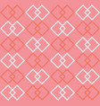 square shape repeating seamless pattern design vector image vector image