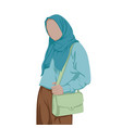 Stylish hijab women stylish muslim women carry