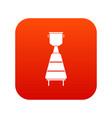 wine distillery equipment icon digital red vector image vector image