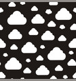 abstract pattern with clouds vector image