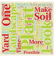 How to make your landscape look good text vector image vector image