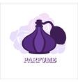 Perfume logo design template vector image vector image