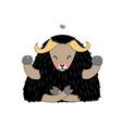 scandi cartoon animal clip art