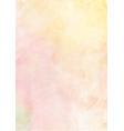 soft yellow and pink watercolor paper background vector image vector image