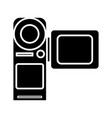 video camera - movie making icon vector image