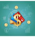 1609sm002085m004c3realistic money vector image
