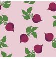 beet pattern seamless pantone vector image