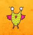 Bird Creature Cartoon vector image vector image