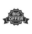 black friday inscription sale and discount vector image vector image