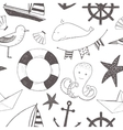 child marine pattern vector image vector image