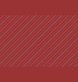 dark red striped seamless background vector image vector image