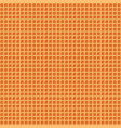 waffle seamless background pattern vector image