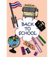 Back to school Clip Art vector image vector image