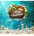 Christmas abstract template EPS 10 vector image
