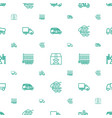 deliver icons pattern seamless white background vector image vector image