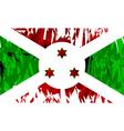 Flag of Burundi vector image vector image