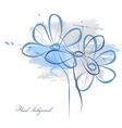 floral watercolor vector image vector image