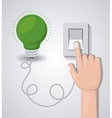 light switch design vector image vector image