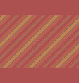 red vintage striped background vector image