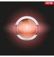 Round car headlight turn indicator is on vector image
