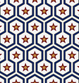 star pattern background vector image vector image