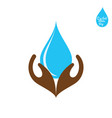 happy water day poster design vector image