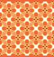 art abstract flower seamless pattern vector image vector image