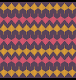 creative retro abstract shape design pattern vector image