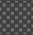 dark atom seamless pattern vector image