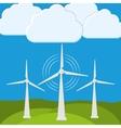 Green energy innovation vector image