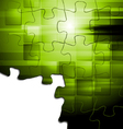 Hi-tech concept background vector image vector image