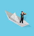 investor isometric business concept vector image