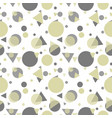 seamless pattern with geometric shapes and lines vector image vector image