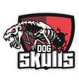 cartoon animal mascot character for sport logo vector image