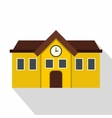 Chapel icon flat style vector image vector image