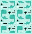 dinosaurs seamless pattern vector image