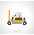 Farming sprayer flat color design icon vector image vector image
