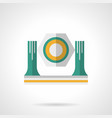 Lighting moving head flat color icon vector image