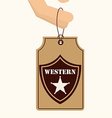 old west vector image