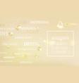 regenerate cream and vitamin label concept skin vector image vector image