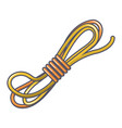 rope icon cartoon style vector image vector image