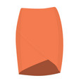 skirt template design fashion woman - women skirt vector image vector image