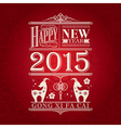 chinese new year goat design background vector image