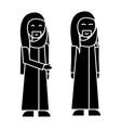 man arabic businessman icon vector image