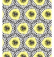Seamless pattern perforation bacground vector image vector image