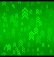 Up Green Arrow Seamless Pattern Background vector image