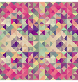 Vintage hipsters geometric pattern vector image vector image