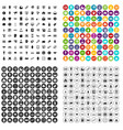 100 lending skill icons set variant vector image vector image